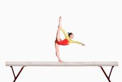 Balance beam royalty free stock photography