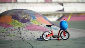 Balance bicycle Royalty Free Stock Photo