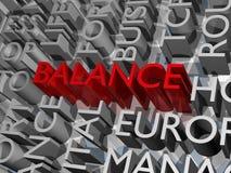 Balance block Stock Photo