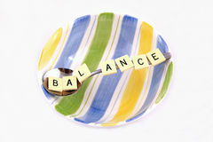 Balance in a bowl Royalty Free Stock Photo