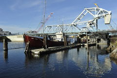 Balance Bridge, Victoria, British Columbia, Canada Royalty Free Stock Photography