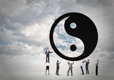Balance concept Royalty Free Stock Photography