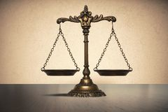 Balance. Concept of law and justice royalty free stock photo