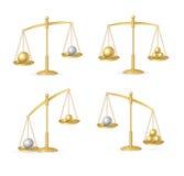 Balance Concept Set. Vector Stock Photography