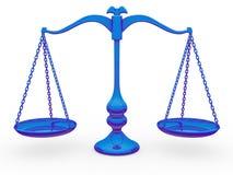 Balance de la escala Stock de ilustración