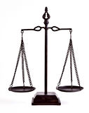 Balance de la justicia Fotografía de archivo libre de regalías