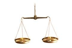 Balance de la ley foto de archivo libre de regalías