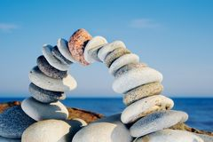 Balance de los arcos Fotografía de archivo