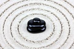Balance de los guijarros del zen Fotos de archivo