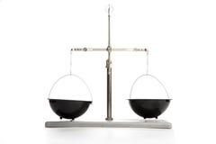 Balance del químico Imágenes de archivo libres de regalías