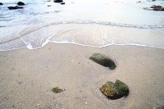 Balance e acene no senador praia Phuket do Ao Foto de Stock
