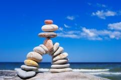 Balance gravels Stock Photo