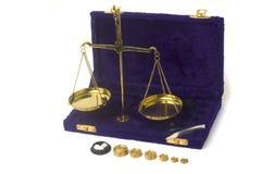 Balance has plates Royalty Free Stock Photos