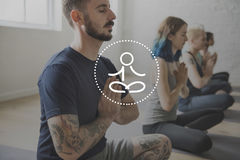 Balance Healthcare Healthy Life Meditation royalty free stock photography