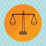 Balance icon design Royalty Free Stock Photos