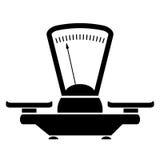 Balance icon. Isolated on white background Royalty Free Stock Image