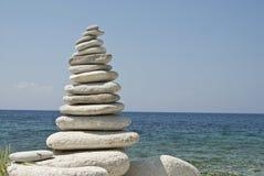 Balance im Blau Lizenzfreies Stockbild