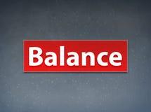 Balance Red Banner Abstract Background. Balance Isolated on Red Banner Abstract Background illustration Design stock illustration