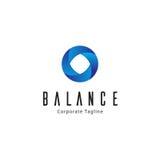 Balance Logo Template Royalty Free Stock Image