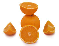 BALANCE OF ORANGE Stock Image