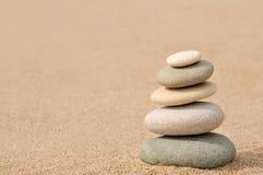Balance, piedras del zen Imagen de archivo libre de regalías