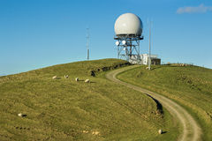 Balance Radar Station Stock Photo