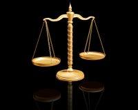 Balance on reflective surface Stock Photography