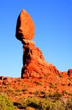 Balance Rock, Arches National Park Stock Photo