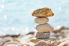 Balance rocks Stock Photography