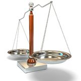 Balance scale Stock Photo