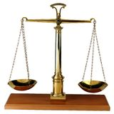 Balance scales Royalty Free Stock Images