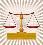 Balance scales Royalty Free Stock Photos