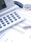 Balance sheet Royalty Free Stock Photos