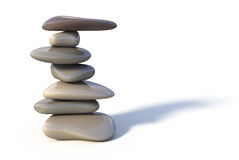 Balance stone tower Royalty Free Stock Photo