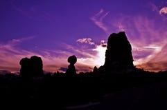 Balance Sunset Royalty Free Stock Images