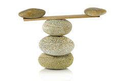 Balance on the tower Stock Photos