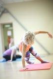 Balance training exercise Royalty Free Stock Images