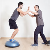 Balance training Royalty Free Stock Photos