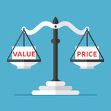 Balance, Value And Price Stock Photos
