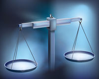 Balance. Vector illustration. Stock Photo