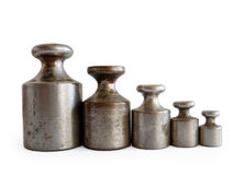 Balance weight Royalty Free Stock Photography