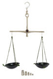 Balance with weight Stock Image