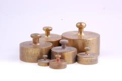 Balance weights Royalty Free Stock Photos