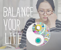 Balance Your Life Equality Steady Concept Royalty Free Stock Image