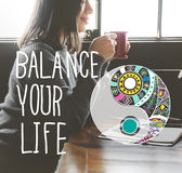 Balance Your Life Equality Steady Concept Royalty Free Stock Photos