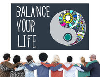 Balance Your Life Stability Work-Life Concept Stock Photography