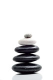 Balance of zen stone Royalty Free Stock Photos