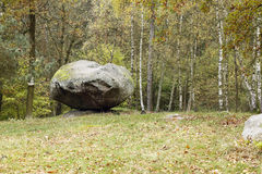 Balanced Boulder Pulpit Stock Images