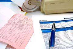 Balanced Budget stock photos