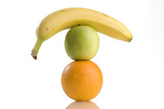 Balanced diet Royalty Free Stock Photography